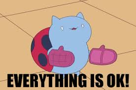 Okay Meme Gif - everything is ok catbug know your meme