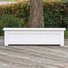 Garden Bench With Planters Pvc Planters U0026 Composite Planters Hooks U0026 Lattice