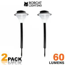 Brightest Solar Landscape Lighting - 2 pack super bright solar path lights 60 lumens led solar