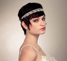 hair styles with rhinestones wedding hairstyles ideas side ponytail curly ends short