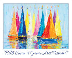Home Design And Remodeling Show Miami by Coconut Grove Art Festival Poster 2015