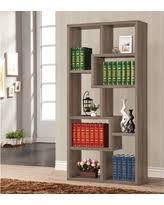Weathered Bookcase Hello Summer 51 Off Coaster Weathered Grey Interlocking Bookcase