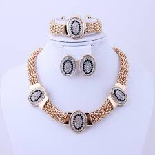 silver jewellery necklace sets images 2018 wedding gold silver jewelry sets dubai bridal gold plated jpg
