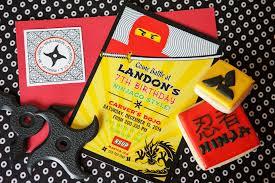 Lego Invitation Cards A Lego Ninjago Inspired Birthday Party Anders Ruff Custom