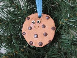 chocolate chip cookie ornament chocolate chip cookie