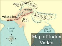 Hinduism Map Ancient Indus Valley By Barnessyd