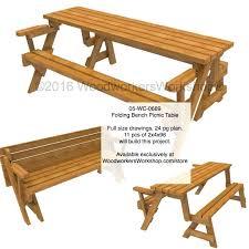 Folding Picnic Table Plans Folding Picnic Table Plans Folding Bench Picnic Table Woodworking
