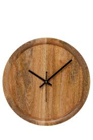 australian house u0026 garden otoway mango wood clock myer online