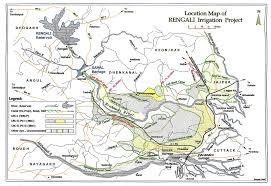 Lbl Map Rengali Project Phase I Irrigation Project Ji02385
