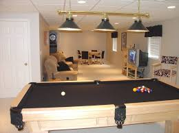 Pool Table Ceiling Lights Interior Finished Basement Ideas To Help You Get More Inspiration