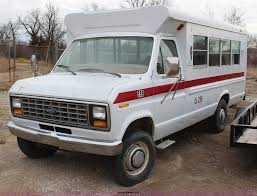 1984 ford econoline e350 bus item h1496 sold april 1 go