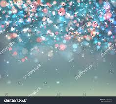 Garland Fairy Lights by Fairy Lights Festive Decoration Realistic Luminous Stock Vector