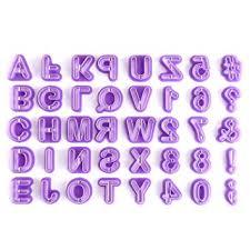 ustensile de cuisine en m en 6 lettres ounona 40 pièce emporte lettre pour décoration de biscuit