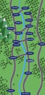 paltz cus map along the hudson