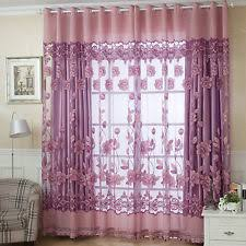 purple curtains drapes and valances ebay