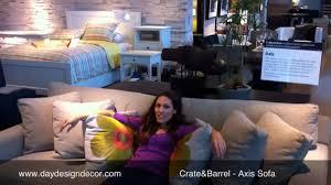 Crate And Barrel Sleeper Sofa Reviews Furniture Reviews Crate Barrel Axis Sofa