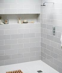 Tiling A Bathroom Floor by 8 Best 1 3 Offset Tile Surround Images On Pinterest 12x24 Tile