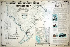 Map Of New Jersey And Pennsylvania by Delaware Canal Towpath Njhiking Com