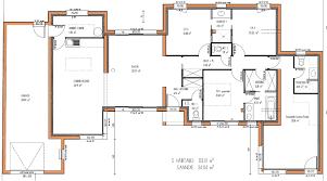 plan maison contemporaine plain pied 3 chambres plan de maison contemporaine plain pied gratuit plans maisons avec