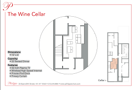 wine cellar floor plans the wine cellar philippe chow