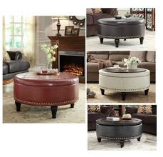 Large Storage Coffee Table Coffee Table Fabulous Ottoman Table Cocktail Ottoman Large