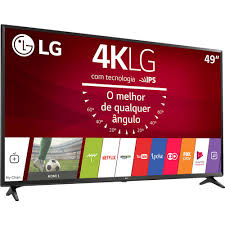 smart tv lg 49 uj6300 49 polegadas led ultra hd com conversor
