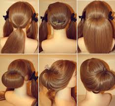 easy updo tutorials for short hair short hairstyles fine hair