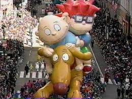 the rugrats balloon the inaugural appearance november 27 1997