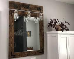 farmhouse mirror etsy