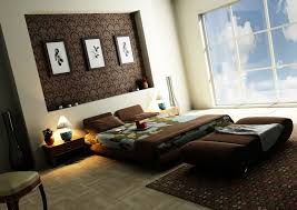 bedroom picture of modern bedroom decoration using concrete