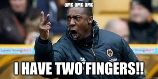 Meme With Two Pictures - omg omg omg i have two fingers terry connor quickmeme