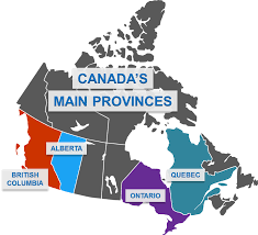 Map Of Canada With Provinces by Canadian Provinces Your Expat Guide To The Canadian Provinces