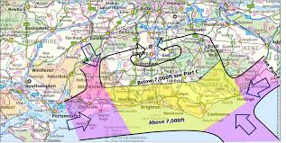 Flight Path Map Search London Airspace Consultation