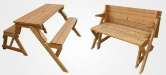 Plans For Picnic Table That Converts To Benches by Kitchen Park Bench Turns Into A Picnic Table For Two Wood For