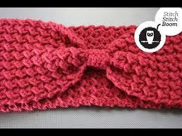 crochet ear warmer headband crochet tutorial moss stitch ear warmer