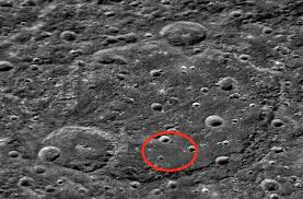 cat and human like discovered on moon in nasa picture