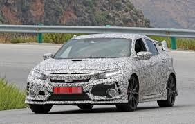 honda civic type r 2018 2018 honda civic type r spied gets closer to us debut autoevolution