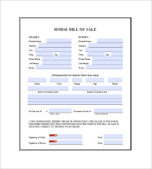 Sle Of Expense Sheet by Bill Of Sale 8 Free Word Excel Pdf Format Downlaod