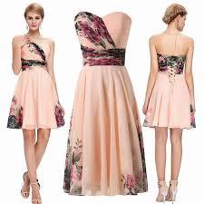 karin short cocktail dresses 2016 plus size summer flower floral