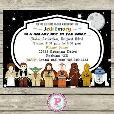 27 best star wars birthday invitations images on pinterest