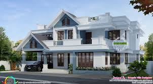 Classic Home Design Double Storied Mixed Roof Classic Home Kerala Home Design And
