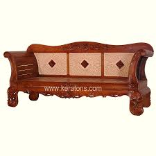 Rattan Bedroom Furniture Enchanting Wood Carving Sofa Furniture In Luxury Home Interior