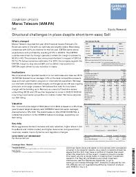 stock bureau maroc note goldman sachs sur maroc telecom février 2013