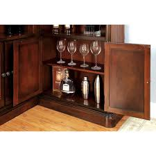 Wood Bar Cabinet Furniture Of America Wolfgang Home Bar Cabinet Hayneedle