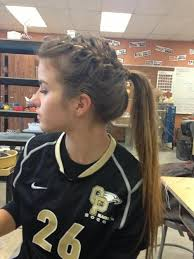 Cute Sporty Hairstyles Best 10 Braided Cheer Hair Ideas On Pinterest Cute Cheer