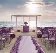Purple Aisle Runner Flower Centerpiece Help Weddingbee