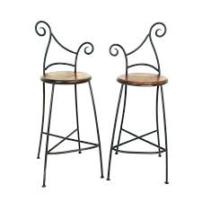 chaise bar industriel chaise bar fer forge attrayant tabouret de bar industriel manguier