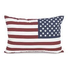 coussins deco coussin déco rectangulaire 40x60cm us flag décoration maison
