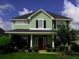 house exterier color yellow warm home design
