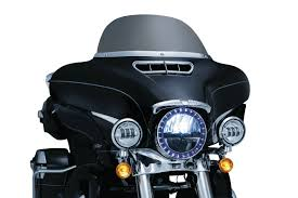 led halo headlight accent lights l e d halo trim rings front end covers trims accents kuryakyn